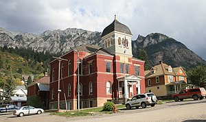 True Grit (1969 film) - Ouray County Courthouse, constructed in 1888.