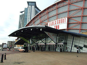 Earls Court Exhibition Centre - Entrance to Earl's Court Two, 2009