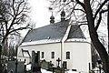 Overview of Holy Trinity church in Horka-Domky, Třebíč, Třebíč District.jpg