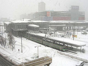 Otaru-Chikkō Station - Otaru-Chikkō Station in February 2005