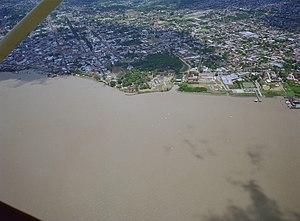 Paramaribo District - Image: Overzicht van uit de lucht van Paramaribo Paramaribo 20417734 RCE