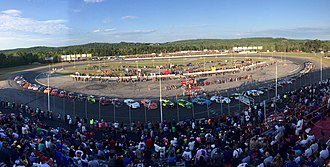 Oxford Plains Speedway - 2016 HP Hood Oxford 250 Starting Grid