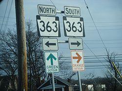 definition of detour