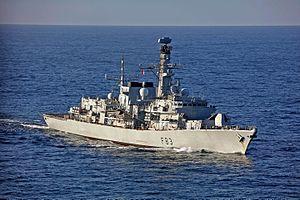 HMS St Albans (F83) - Image: PHOTEXOF HMS ST ALBANS MOD 45161945