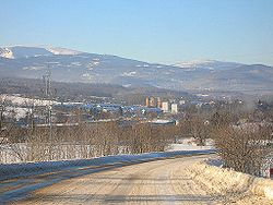 Widok og�lny z trasy na Wa�brzych