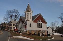 Church in Port Murray Historic District