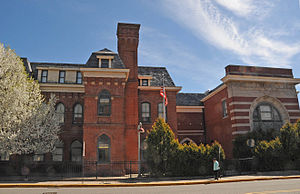Public School Number Two - Image: PUBLIC SCHOOL NUMBER TWO, PATERSON, PASSAIC COUNTY, NJ