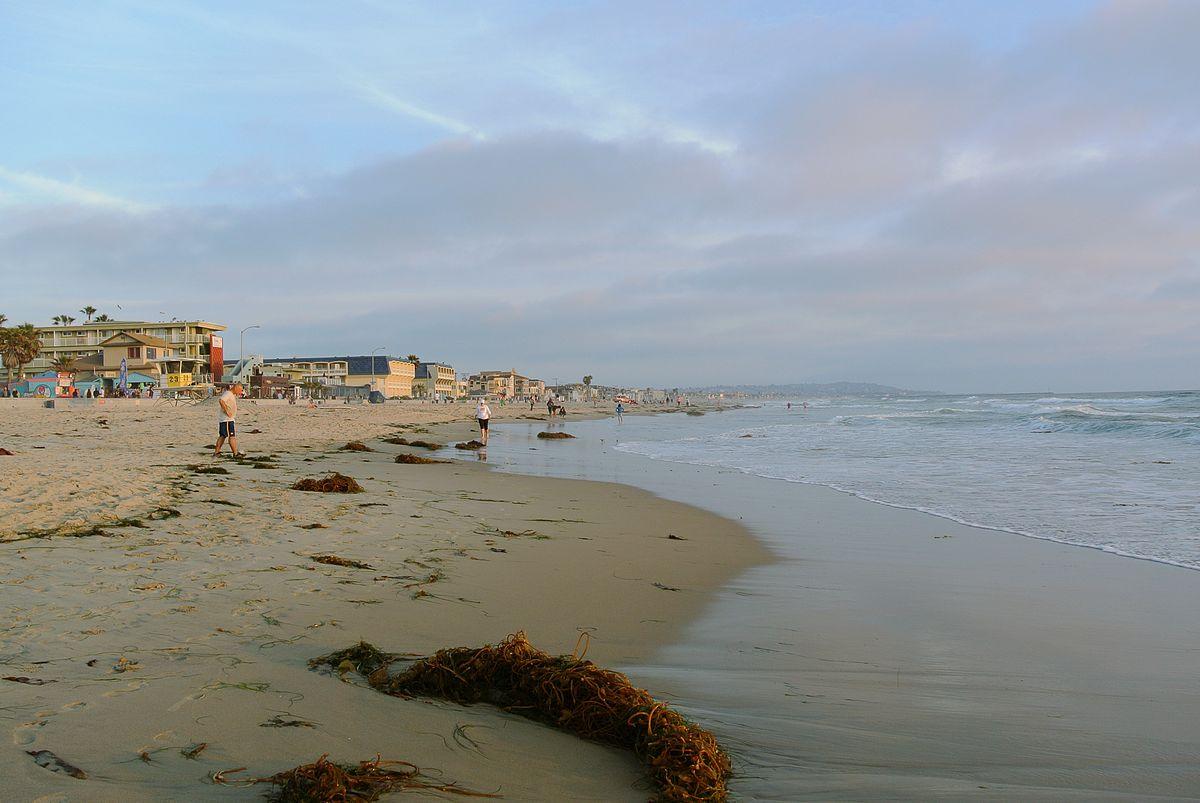 Ocean Beach San Diego Ca United States Of America