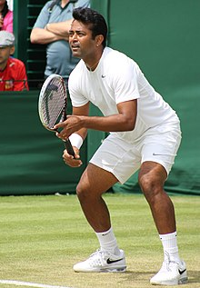 Leander Adrian Paes - (Born 17 June 1973) is an Indian professional tennis player who is considered as one of the greatest doubles player in the history of the sport along with the record of most doubles wins in the Davis Cup.   IMAGES, GIF, ANIMATED GIF, WALLPAPER, STICKER FOR WHATSAPP & FACEBOOK