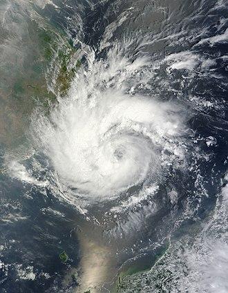2012 Pacific typhoon season - Image: Pakhar 2012 03 30