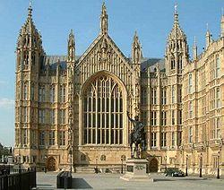 El Salón Westminster visto desde el Sur