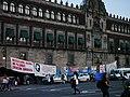 Palacio National- 43 protest encampment.jpg