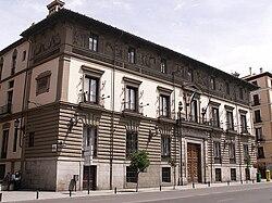 PROPUESTAS DE RULADA DE LA COMUNIDAD DE MADRID - DOMINGO 8 DE MARZO 250px-Palacio_de_Abrantes_%28Madrid%29_03