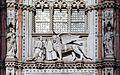 Palazzo Ducale (Venice) - Porta della carta - Doge Francesco Foscari.jpg