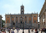 Palazzo Senatorio, das Rathaus von Rom