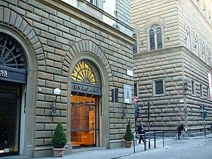 Via de' Tornabuoni - Via de' Tornabuoni with Palazzo Strozzi.