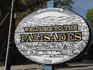 The Palisades, Washington, D.C. - Palisades sign