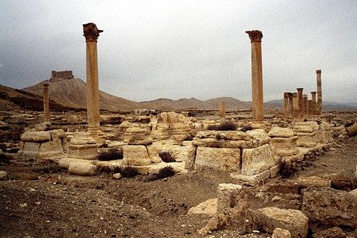 Palmira. Campo di Diocleziano, tetrapilo - DecArch - 1-132
