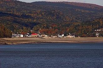 Alma, New Brunswick - Image: Panorama Alma