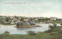 Panoramic view in 1908