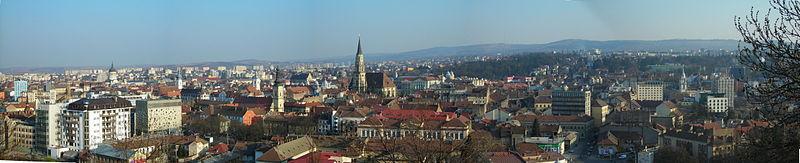 Cluj panorama