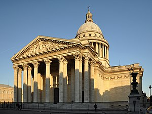 5th arrondissement of Paris - The Panthéon, in the 5th arrondissement of Paris.
