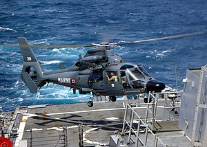 USS Decatur (DDG-73) - Image: Panther 051306 N 9546C 001