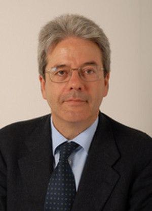 Paolo Gentiloni - Gentiloni in 2006
