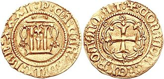 Paolo di Campofregoso - Ducat of Paolo di Campofregoso, coined between 1483 and 1488.