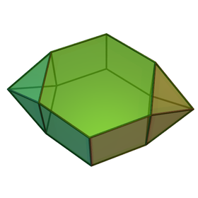 Image illustrative de l'article Prisme hexagonal parabiaugmenté