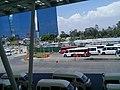 Paradero de autobuses en el Metro Cuatro Caminos.jpg