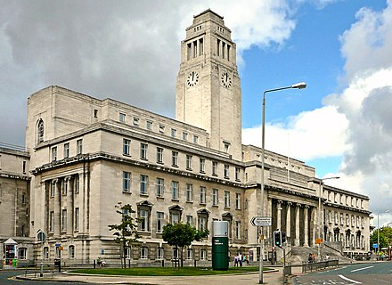 Parkinson Building at the University of Leeds Parkinson Building, Leeds University, England-12Sept2010.jpg