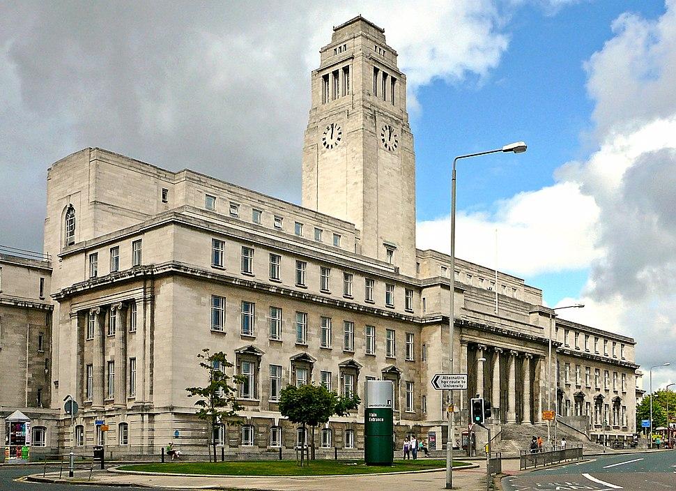 Parkinson Building, Leeds University, England-12Sept2010
