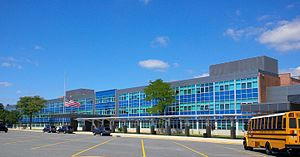 Parkville High School - Image: Parkville HS 2015