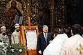 Participation of the President of Ukraine in the festive Christmas liturgy in Saint Sophia, Kiev 18.jpeg