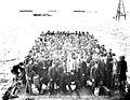 Passengers bound for Seattle being lightered onto the SS VICTORIA, Nome, Alaska, August 3, 1907 (AL+CA 6847).jpg
