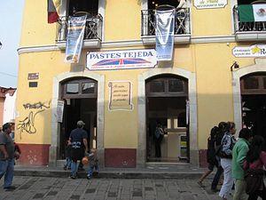 International Pasty Festival - Paste shop in Real del Monte