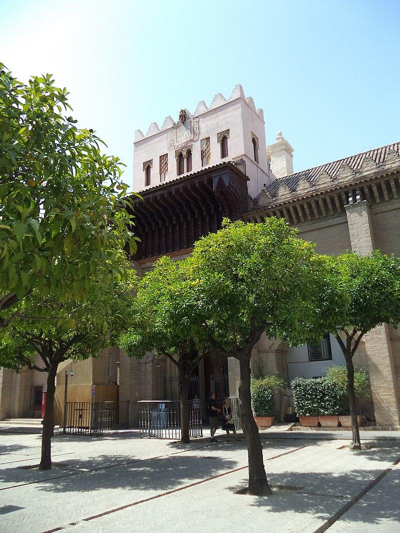 Patio de los Naranjos de Sevilla.JPG