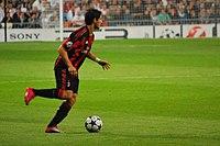 Alexandre Pato em partida da UEFA Champions League f166fd975046a