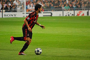 Alexandre Pato - Image: Pato vs Real Madrid