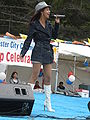 Patricia Javier performing at 14th AF-AFC 12.JPG