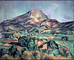 Paul Cézanne: Mont Sainte-Victoire seen from Bellevue