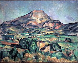 Mont Sainte-Victoire seen from Bellevue