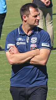 Paul Hood (coach) Australian rules womens football coach