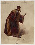 Paul Lormier - Costumes for Hector Berlioz's Benvenuto Cellini (1838) - No.9 - Balducci.jpg