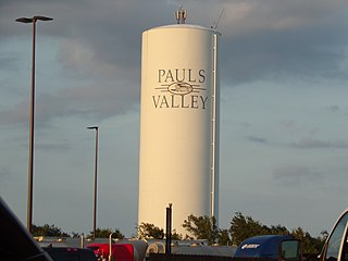 Pauls Valley, Oklahoma City in Oklahoma, United States