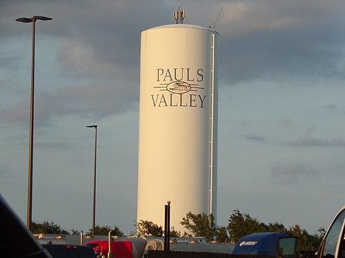 Pauls Valley mailbbox