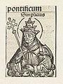 Paus Simplicius Simplicius (titel op object) Liber Chronicarum (serietitel), RP-P-2016-49-56-1.jpg