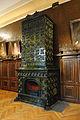 Peć od Žolnai keramike u Patrijaršijskom dvoru u Sremskim Karlovcima.JPG
