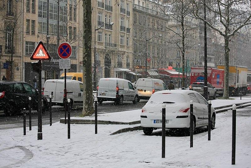 Paris em dezembroclima